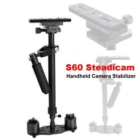 Stabilizer Kamera Dslr Smartphone stabilizer steadycam pro for camcorder dslr black