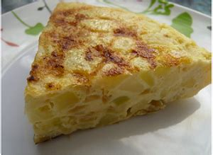 Spanish Potato Omelet Recipe, Whats Cooking America