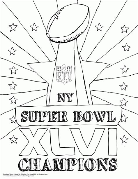 super coloring pages nfl superbowl coloring pages coloring home