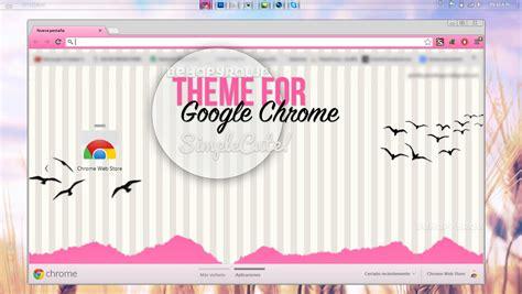 cute themes google chrome tema para google chrome simple cute by ssswag on deviantart