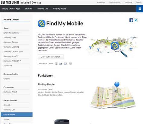 Mit Find Samsung Handy Orten Mit Find My Mobile Programmierer Sonstiges