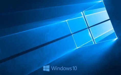 wallpaper windows 10 blue windows 10 system logo blue style background wallpaper