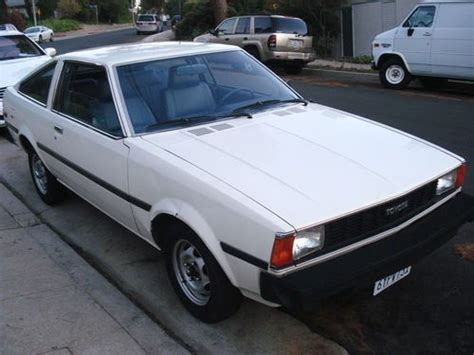 1980 Toyota Corolla For Sale Buy Used 1980 Toyota Corolla Coupe Classic Low