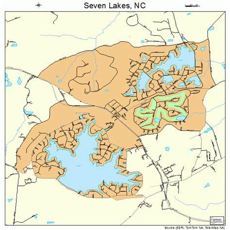 lakes in carolina map seven lakes carolina map 3760515