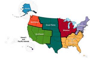 8 regions of the united states map regional climate information modeling globalchange gov
