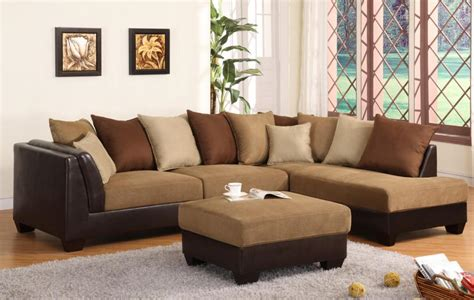 Microfiber Sectional Sofa With Chaise Microfiber Sectional With Chaise Doherty House Ultimate Comfort Luxury Microfiber