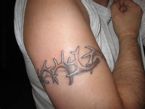 deer antler tattoos for men elk antler on arms www pixshark images