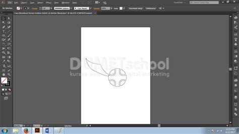 cara membuat outline di illustrator cara membuat vector golden snitch di adobe illustrator