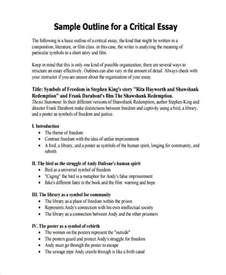 Exle Of An Essay by 26 Exles Of Essay Outlines