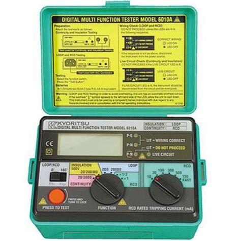 Kyoritsu 4118a Loop Pfc Psc Tester kyoritsu meter digital