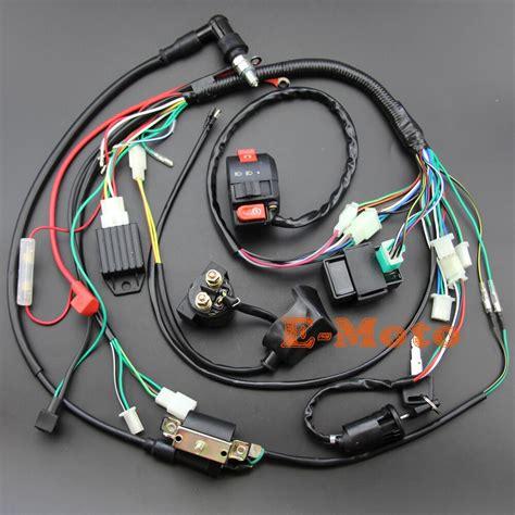 plein electrique cablage bobine cdi bougie kits pour cc