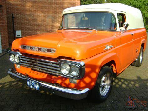 59 ford panel truck 1959 ford f100 f1 panel truck corvette motor muncie