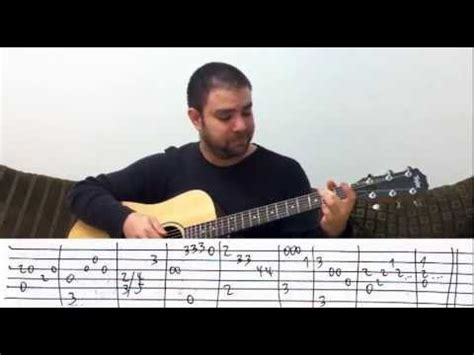 tutorial fingerstyle guitar nathan fingerstyle tutorial desperado instrumental guitar