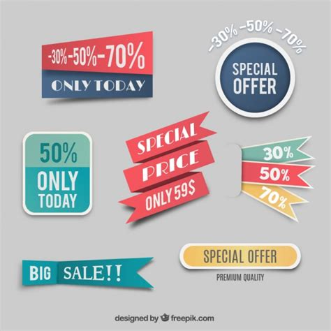 label design cost special price labels vector free download