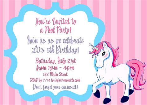 Invitation Letter Sle For A Birthday Just Another Day Lo S 5th Birthday Part 1