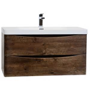 Wall Mount Bathroom Vanity by Buy Merida 35 5 Quot Wall Mount Bathroom Vanity In Rosewood Tn