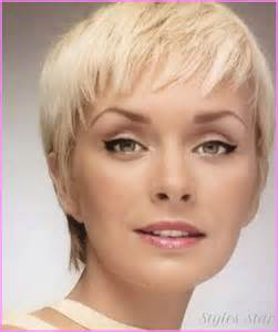 haircuts for with faces long pixie haircuts for round faces stylesstar com