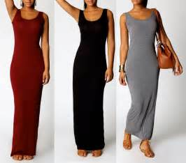 Womens casual sleeveless long maxi dress holiday vest dress size 8 10