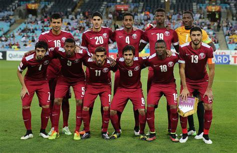 Kaos Tshirt Qatar timnas qatar hadapi sanksi fifa karena pakai tshirt foto