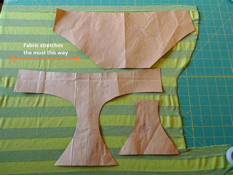 pattern fabric making panty tutorial how to sew underwear
