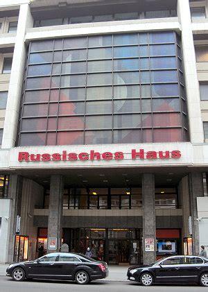 russische haus berlin das russische haus in berlin