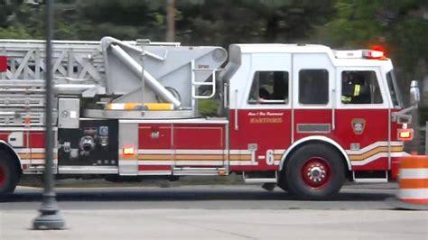 hartford fire department hartford fire department ladder 6 responding youtube