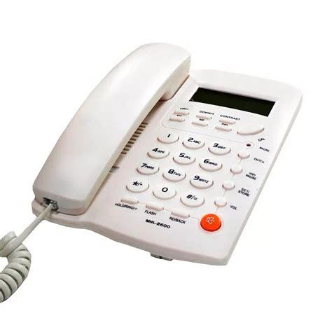 telefono casa telefono para casa o oficina con identificador de llamadas