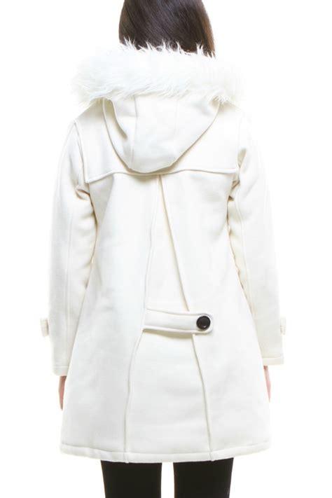 jaket bulu wanita white fur winter coat jyy170617