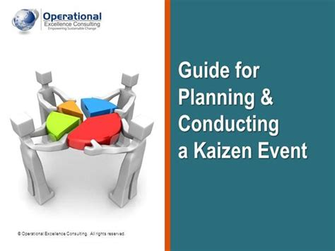 kaizen powerpoint templates kaizen event guide by operational excellence consulting