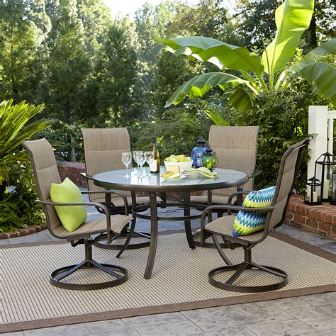 garden oasis miranda  piece dining set shop    shopping earn points  tools
