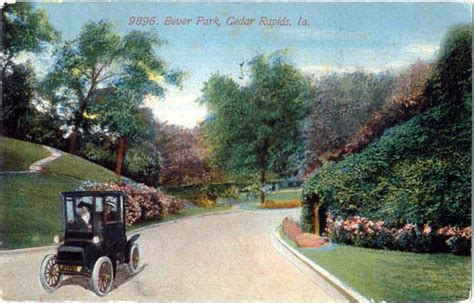 park cedar rapids county ia postcards