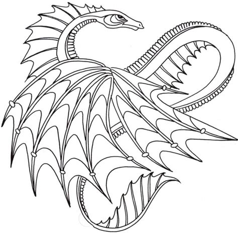 detailed dragon coloring pages kids coloring detailed dragon coloring pages coloring home