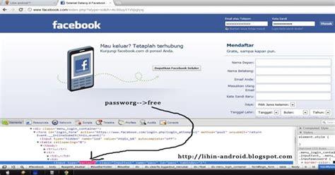 tutorial hack fb tanpa software cara hack fb tanpa software dengan mudah