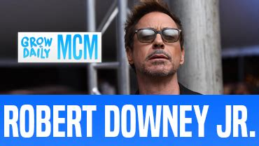 Sobriety Is A Daily Battle For Robert Downey Jr by Mcm Robert Downey Jr Grow Daily