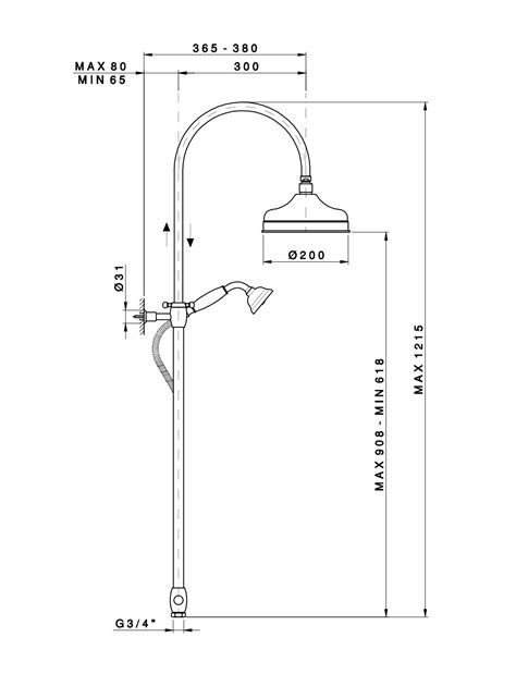 doccia a colonna doccia a colonna c soffione tondo deviatore e doccetta