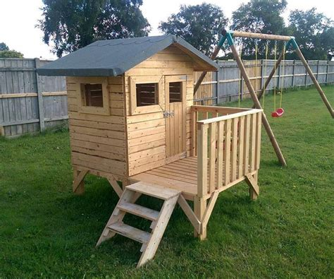 diy playhouse plans diy small pallet playhouse for kids