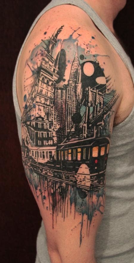 city by gene coffey tattoonow
