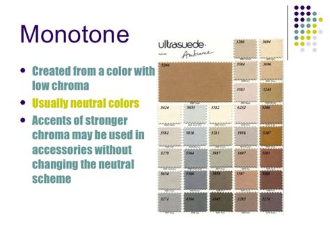 monotone color color power point