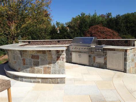 backyard bbq bar designs custom outdoor bar bbq grill design installation bergen county nj traditional