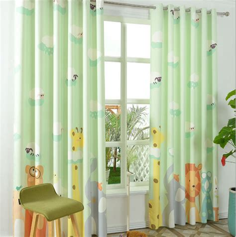 green blackout curtains kids modern green curtains for bedroom curtains for children