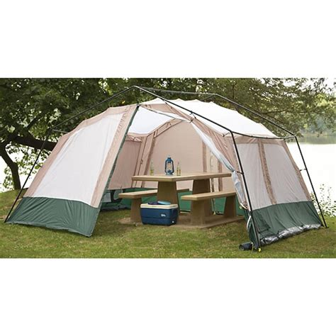 Cabin Tents Cheap by 10 Person Gathering Tent 170796 Cabin Tents At