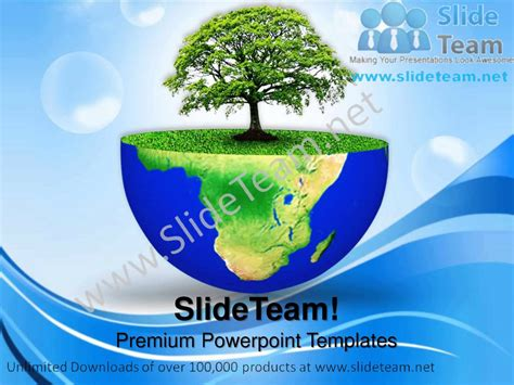 microsoft powerpoint earth themes green planet earth environment powerpoint templates ppt