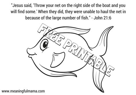 Catching Coloring Pages by Jesus Catching Fish Colouring Pages Sketch Coloring Page