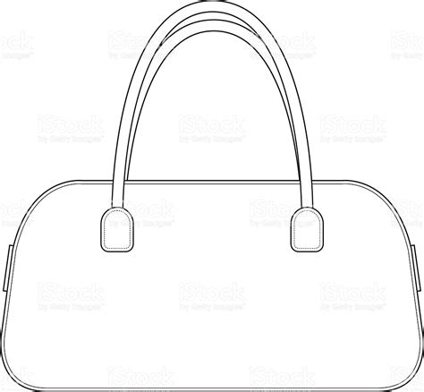 handbag templates templates clipart purse pencil and in color templates