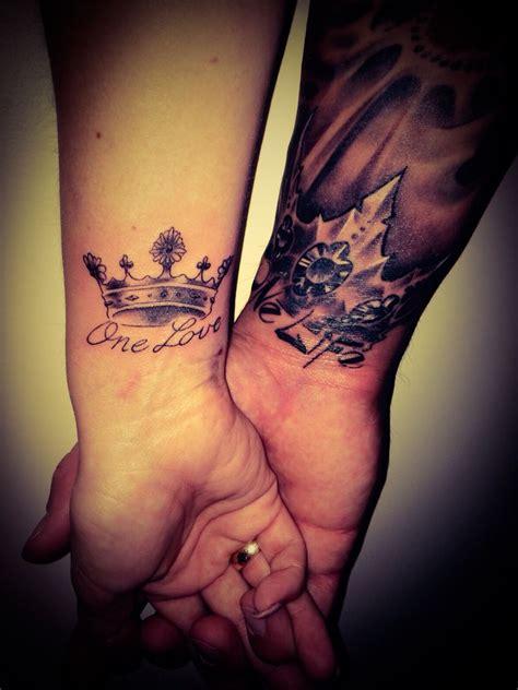 Partner Tattoos Vorlagen by Partnertattoo Crown Krone Crown