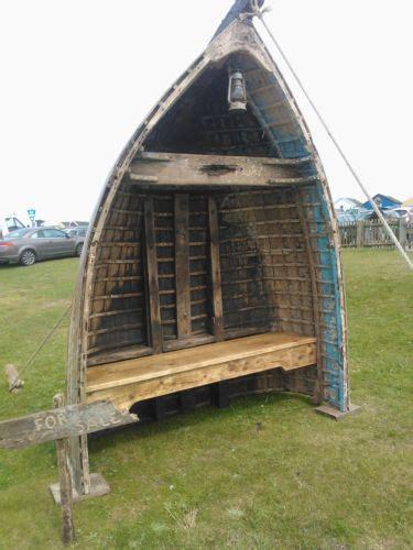 boat garden furniture garden funiture seat bench 1930s wooden boat wooden