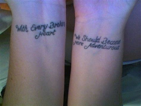 tattoo quotes about broken love heart broken tattoo quotes quotesgram