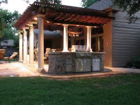 Backyard Room Ideas Custom Outdoor Rooms And Kitchens The Escape In Abilene Tx 79601