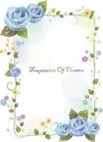 free flowers and vine vector border design 02 titanui