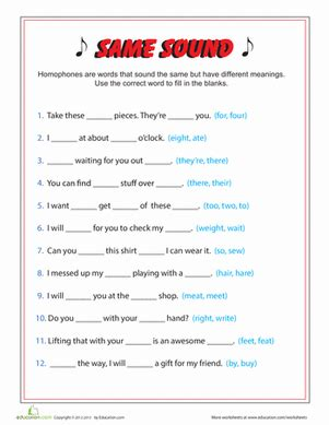 Grammar Worksheets 3rd Grade by Worksheets Education
